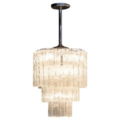 Three-Tiered Murano Tronchi Chandelier
