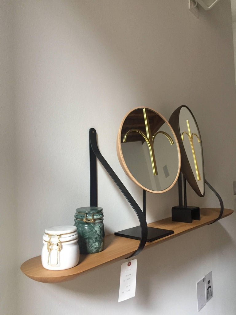 Three Wise Mirrors, Minimalist Ethnic Sculptures Inspired by African Masks For Sale 8