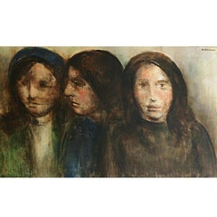 """Three Women"" Painting"