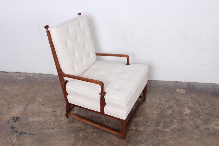 Throne Lounge Chair by Tommi Parzinger For Sale 2