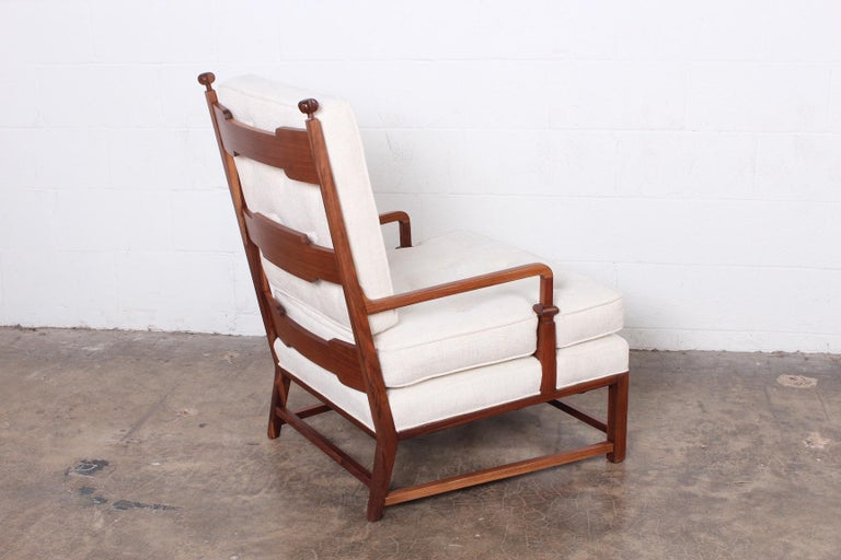 Throne Lounge Chair by Tommi Parzinger For Sale 4