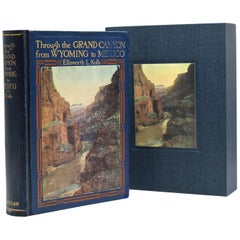 """""""Through the Grand Canyon from Wyoming to Mexico"""" by E. L. Kolb, 1920"""