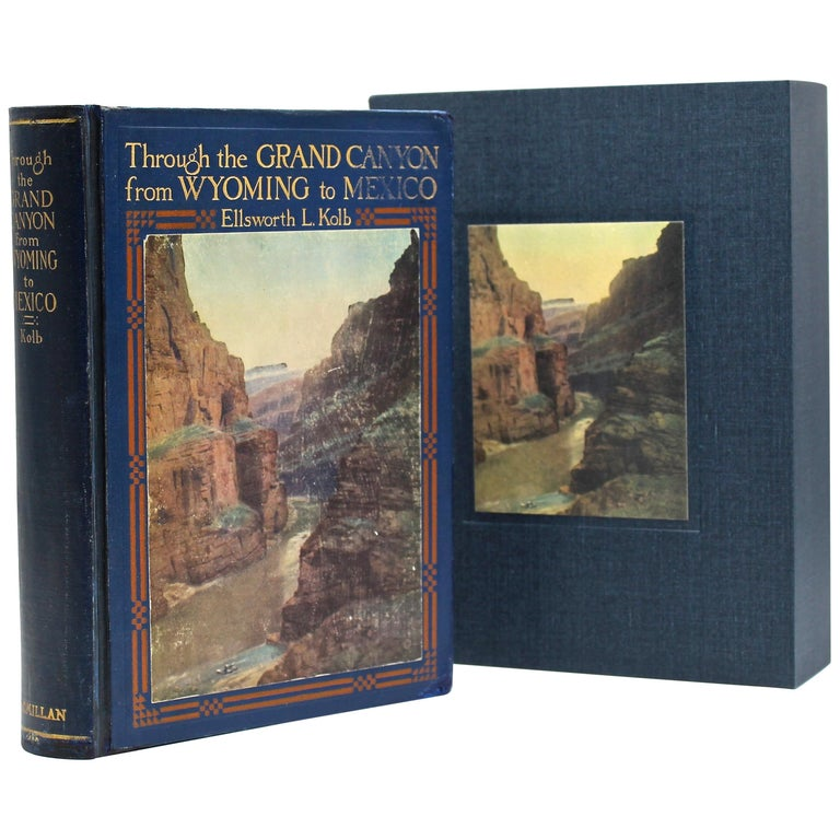 """Through the Grand Canyon from Wyoming to Mexico"" by E. L. Kolb, 1920  For Sale"