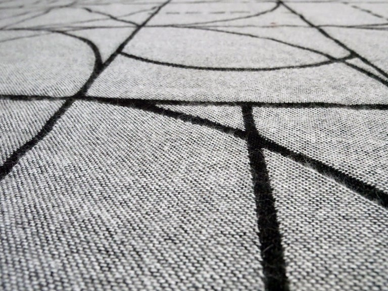 Peruvian Throw / Blanket after Sol LeWitt For Sale