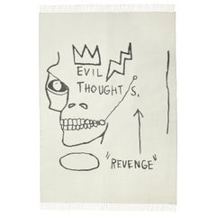 Throw / Blanket by Jean-Michel Basquiat