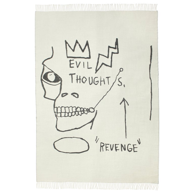 Throw / Blanket by Jean-Michel Basquiat For Sale