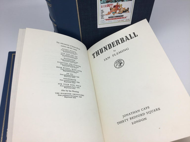 Mid-20th Century Thunderball by Ian Fleming, First Edition, 1961 For Sale