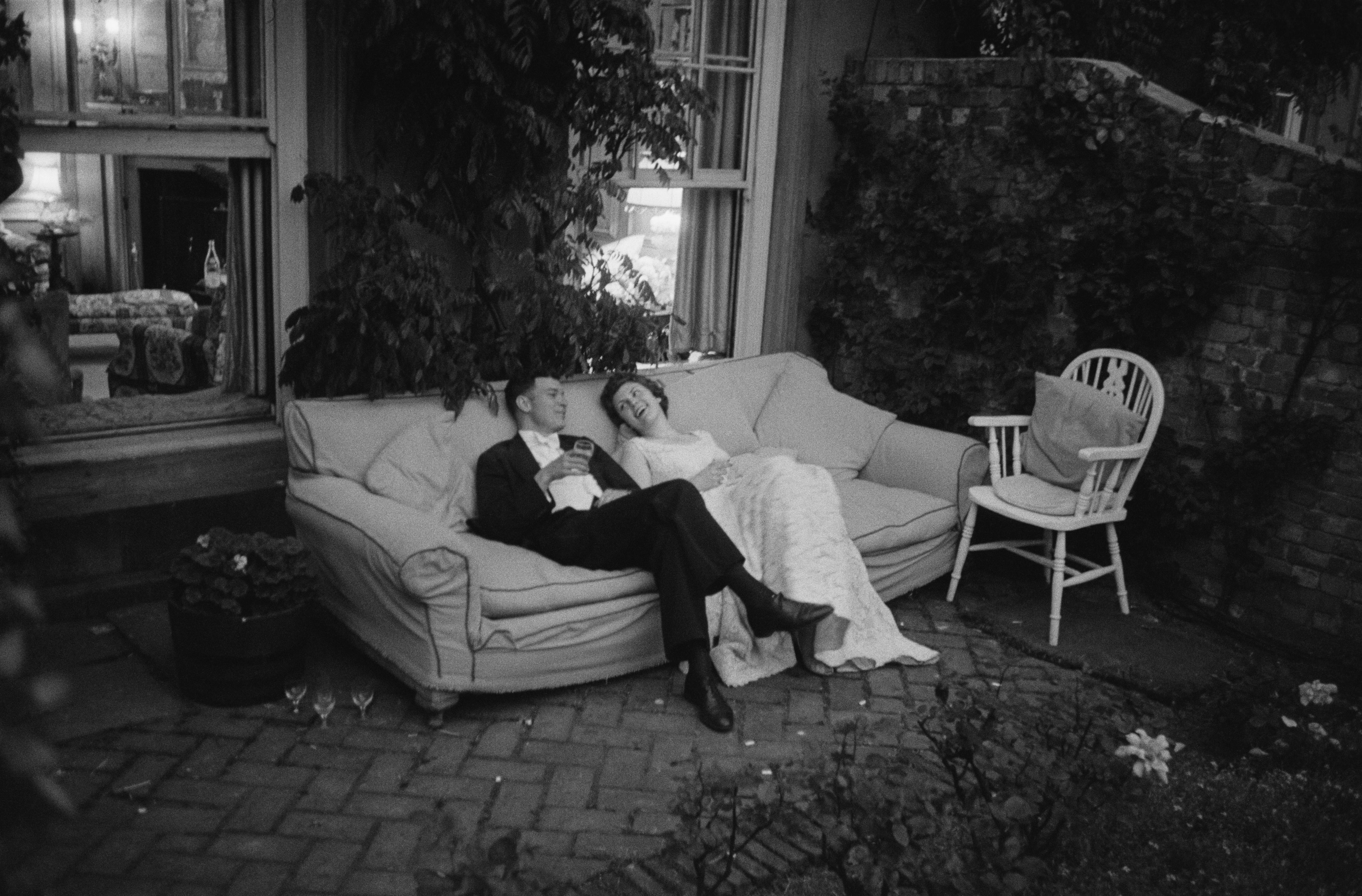 Couple At Party (1955) - Silver Gelatin Fibre Print
