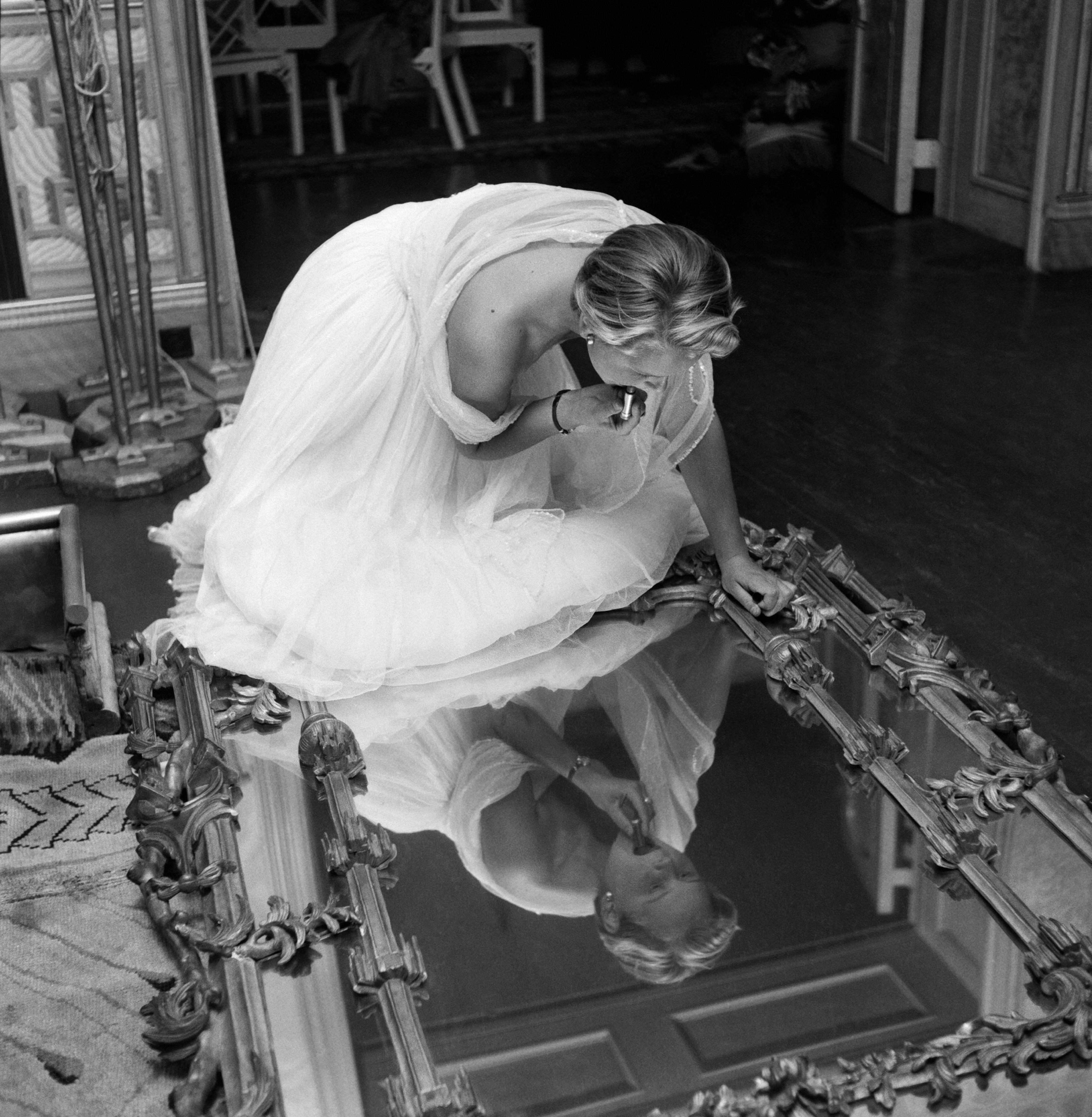 Make Up Mirror (1953) - Silver Gelatin Print