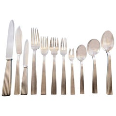 Tiber by Buccellati Sterling Silver Flatware Set for 12 Service 138 Pcs Dinner