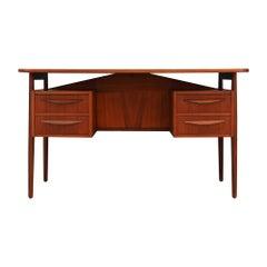 Tibergaard Writing Desk Vintage, 1960-1970