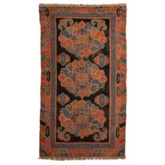 Tibet Antique Carpet from Private Collection