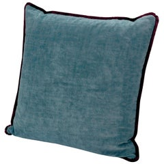 Tibet Small Crushed Velvet Cushion with Fringe by MissoniHome