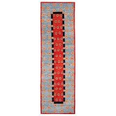 Tibetal Handwoven Geometric Wool Rug by Carini