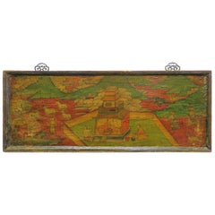 Tibetan Painted Board