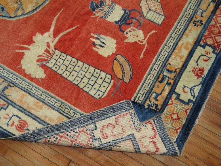 20th Century Tibetan Pictorial Rug For Sale