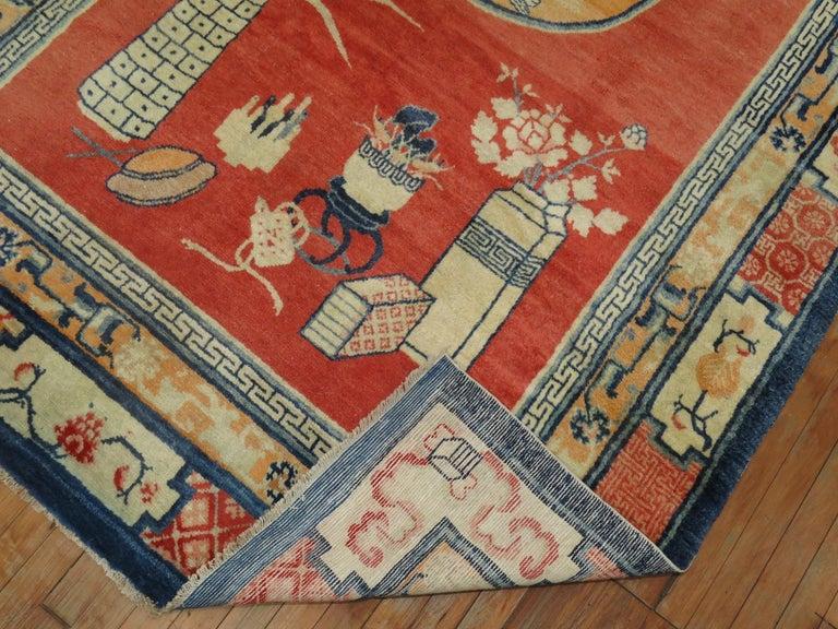 Tibetan Pictorial Rug For Sale 1