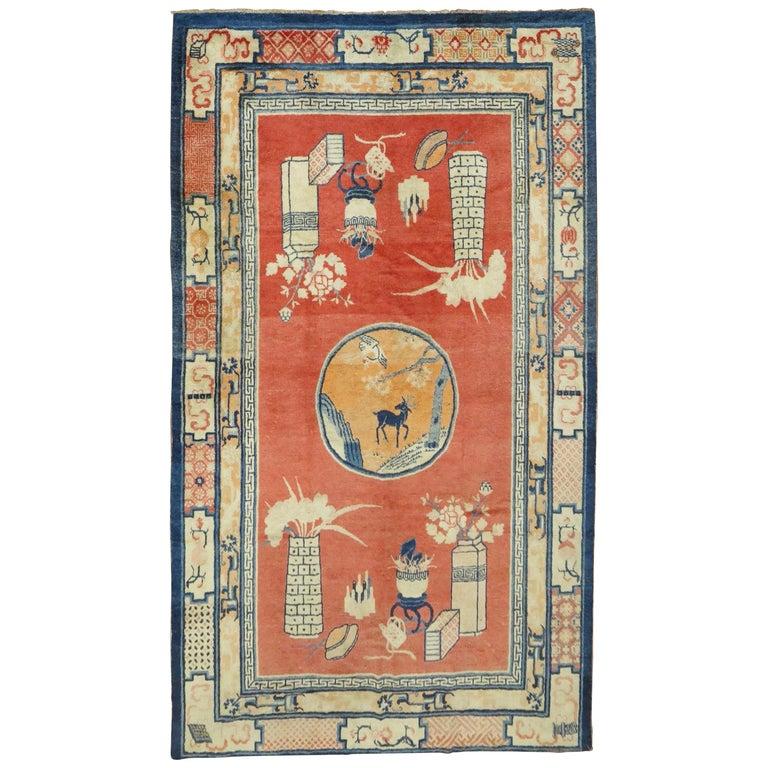 Tibetan Pictorial Rug For Sale