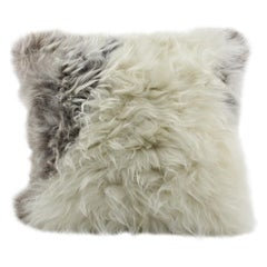 Tibetan Sheepskin Pillow Cushion Limited Edition