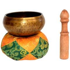 Tibetan Singing Bowl Set Hand-Hammered