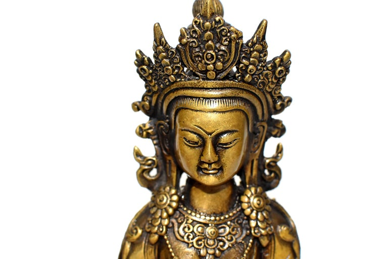 Tibetan Amitayus Buddha For Sale 4