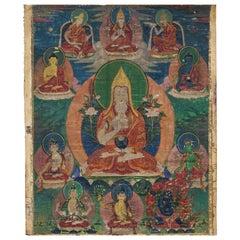 Tibetan Thangka Of Tsongkhapa, 18th Century