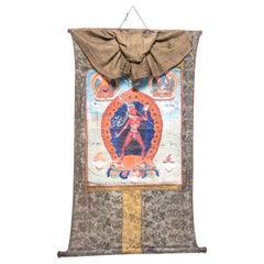 Tibetan Thangka of Vajrayogini
