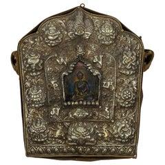 Tibetan Travelling Buddha Shrine
