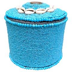 Tibetan Turquoise Beaded Box