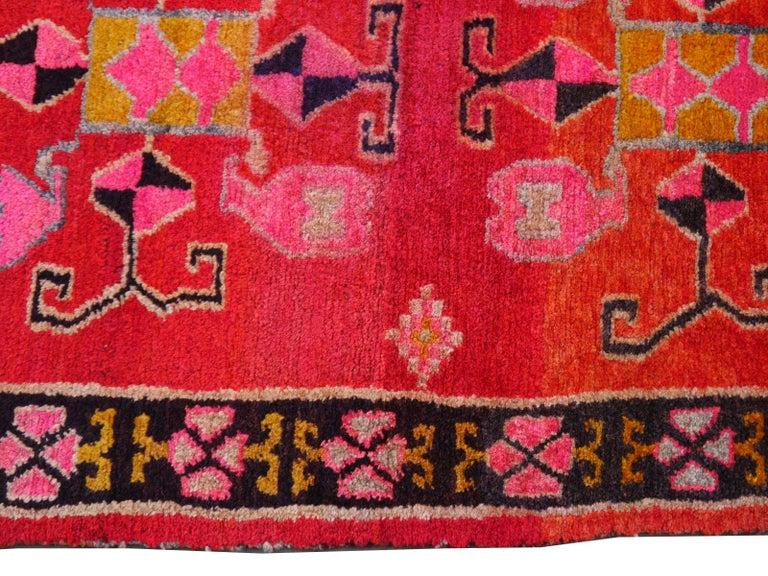 Hand-Knotted Tibetan Yoga Khaden Meditation Rug For Sale