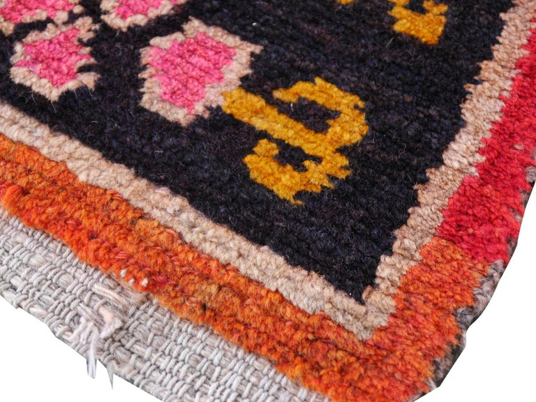 Wool Tibetan Yoga Khaden Meditation Rug For Sale