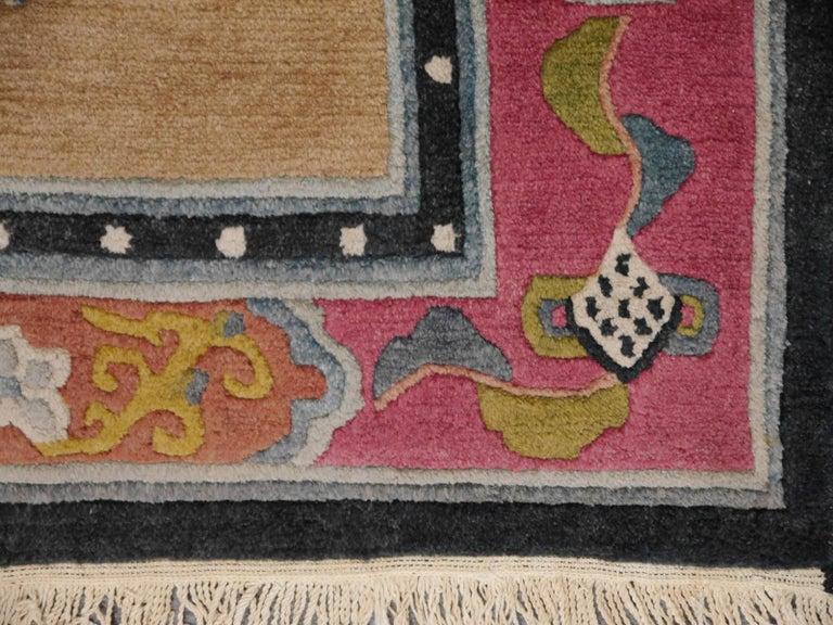 Tibetan Yoga Khaden Meditation Rug For Sale 1
