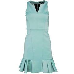 Tibi Sea Foam Green Sleeveless Dress Sz 0