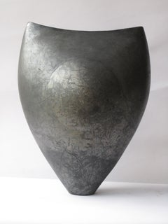 Black Moon, Abstract Ceramic Sculpture