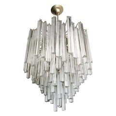 Tiered Chandelier by Venini