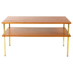 1960s Tiered Console Table by Harvey Probber