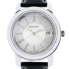 Tiffany & Co. Atlas Leather Band Watch