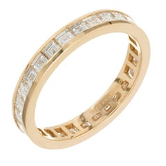 Tiffany & Co. 1.70 Carat Channel Diamond Eternity Band Ring