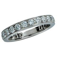 Tiffany & Co. Legacy 1.5 Carat Diamond Platinum Eternity Band