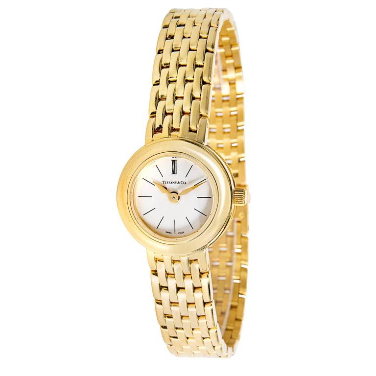 Tiffany & Co. Portfolio Women's Watch in Yellow Gold