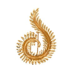 Tiffany & Co. Yellow Gold Brooch