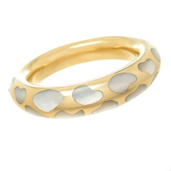 Tiffany & Co. Angela Cummings Gold and Pearl Inlay Bracelet