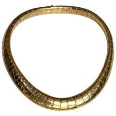 Tiffany & Co. 18 Karat Yellow Gold Collar