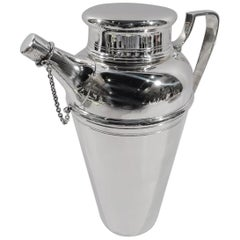 Tiffany & Co. American Art Deco Sterling Silver Cocktail Shaker