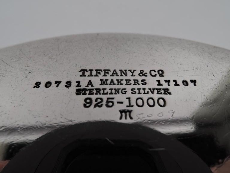 20th Century Tiffany American Modern Sterling Silver Noah's Ark Porringer For Sale