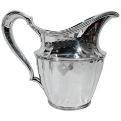 Tiffany American Sterling Silver Heavy and Traditional Water Pitcher