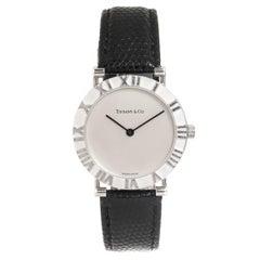 Tiffany & Co. Sterling Silver Atlas Large Quartz Wristwatch