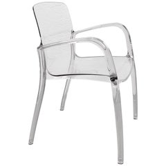 Tiffany Armchair by Casprini Design Marcello Ziliani, Italian Chair Lucite