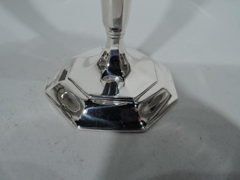 Tiffany Art Deco Modern Sterling Silver Bud Vase For Sale At 1stdibs