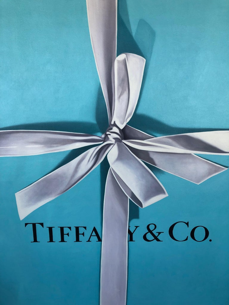 Paint Tiffany Box by Billy Monslave Duffo For Sale